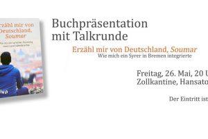 """Buchlaunch """"Erzähl mir von Deutschland, Soumar"""""""