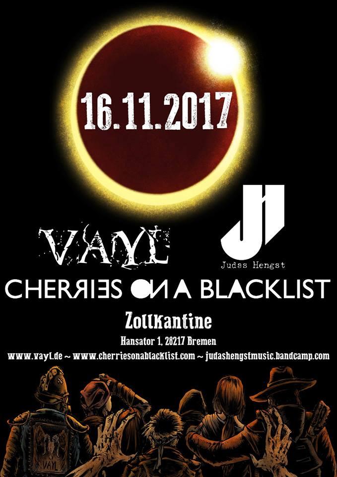 VAyL, Cherries on a Blacklist, Judas Hengst