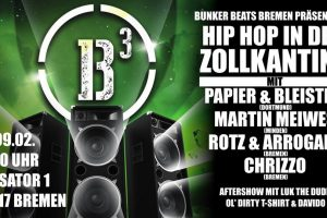 Hip Hop in der Zollkantine