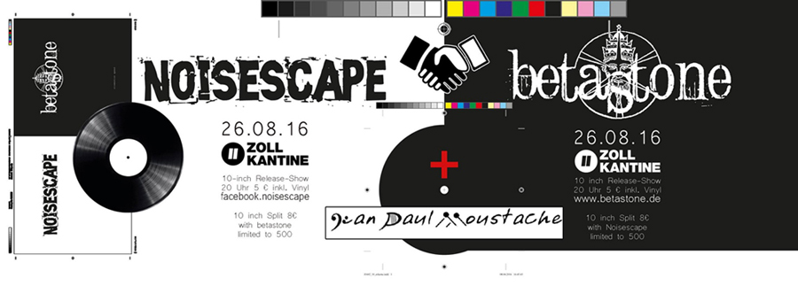 "Release Party ""10 inch Split Noisescape+Betastone"""