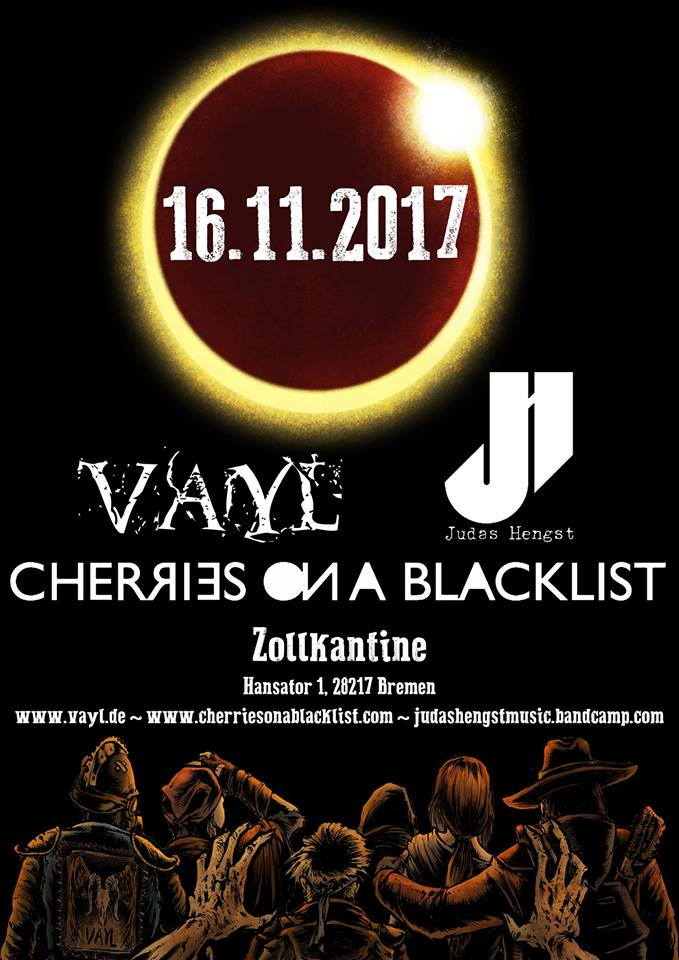 VAyL, Cherries on a Blacklist, Judas Hengst