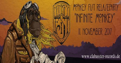 """Monkey Fist – """"Infinite Monkey"""" – Releaseparty"""