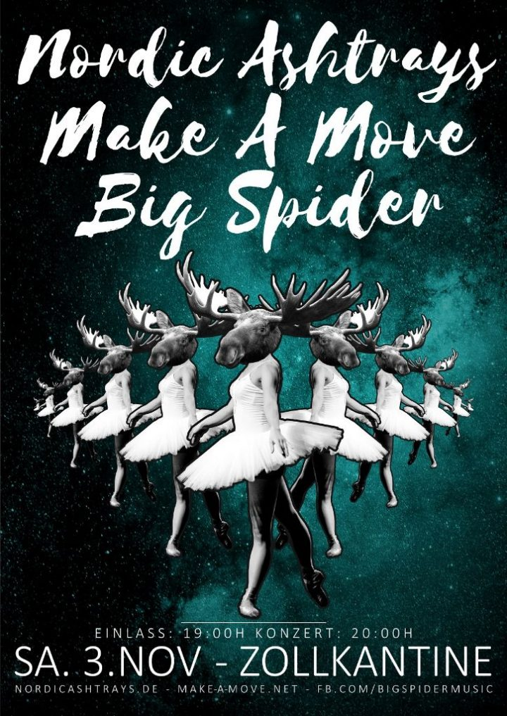 Nordic Ashtrays // Make A Move // Big Spider
